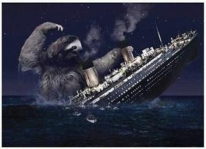 titanic sloth