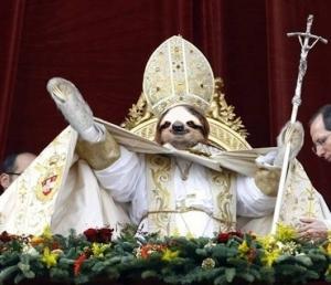 Slothtastic blasphemy!